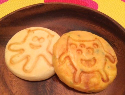 🎃モンスターパンケーキ(10/29ランチ会レシピ)
